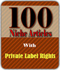 100 PLR Articles with Resale Rights!