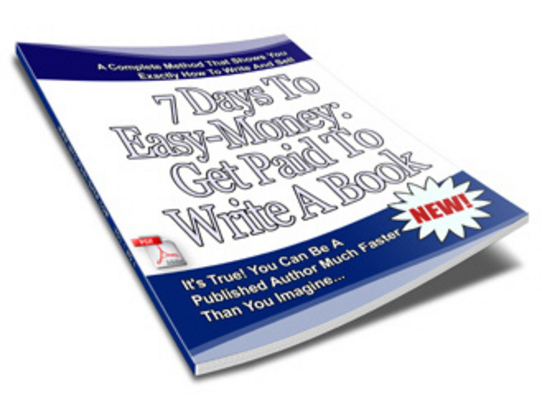 Product picture 7 Days To Easy Money Ebook! Worth buying With Resell Rights!