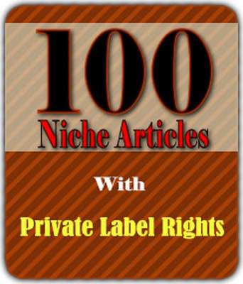 Product picture 100 PLR Articles with Resale Rights!